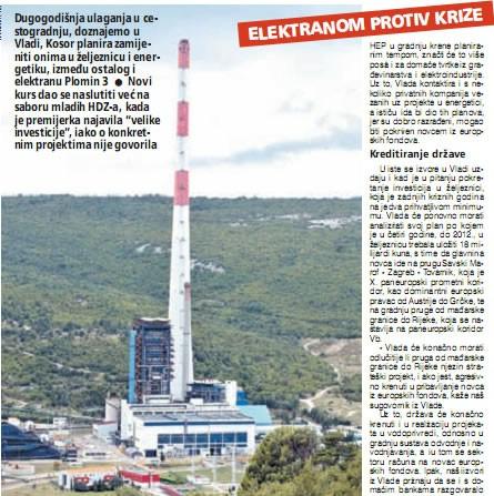 Do kraja godine Vlada daje zeleno svjetlo Plominu 3 - premijerka zaigrala na drugu kartu - elektranom protiv krize