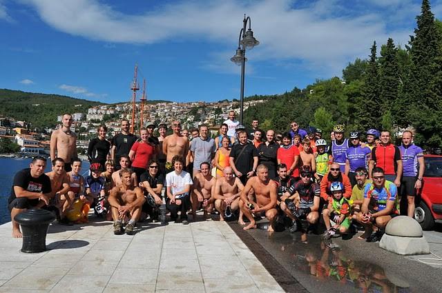 Ekipni triatlon Rabac 2010 - Labinjani okupirali pobjedničko postolje (Fotografije)