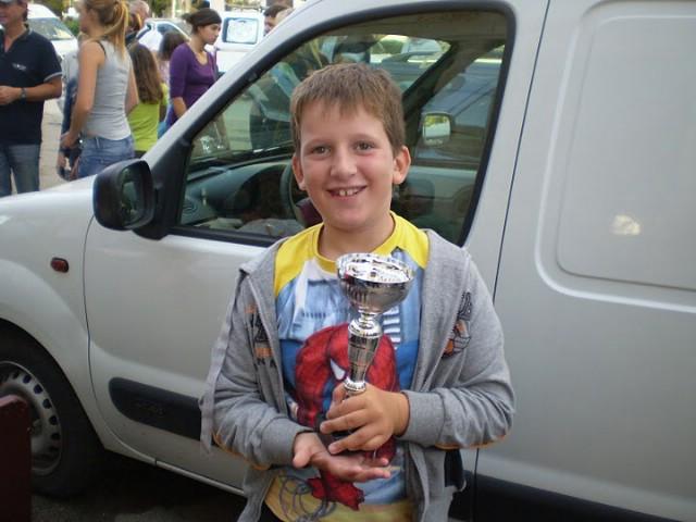 Luki Brenčiću pokal za najmlađeg sudionika regate Memorijal Alda Prodana u Rovinju