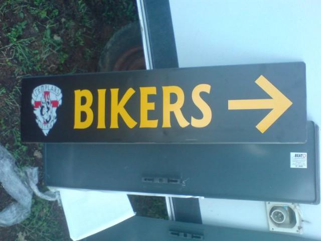 Defile motocikala 8. Templars bikers meetinga u Rapcu