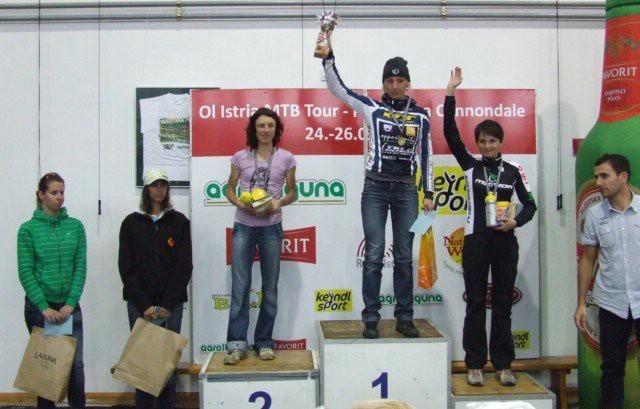 Andrea Kiršić i Robi Šujević drugi na brdskobiciklističkom maratonu OI Istria MTB tour - Parenzana Cannondale 2010 (VIDEO)