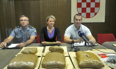 Nakon uhićenja Labinjana s 5,5kg `trave` moguća nova uhićenja
