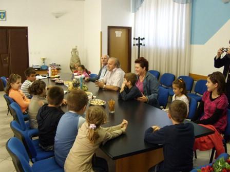 Načelnik Općine Raša organizirao prijem za prvašiće