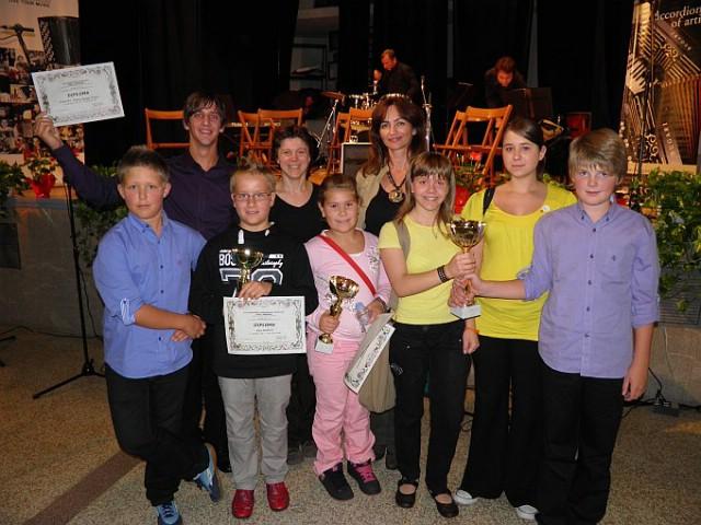 Harmonikaši iz Labina na 8. međunarodnom natjecanju u Italiji osvojili diplome i pehare