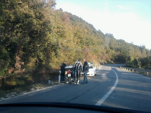 Pedrovica: Teško ozlijeđen motociklist