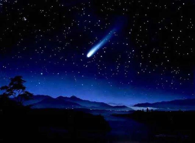 Orionidi na nebu