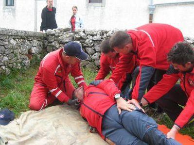 Hrvatska gorska služba spašavanja održala vježbu na Skitači