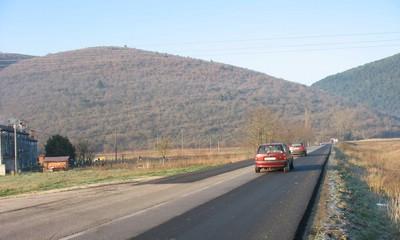 Sanirana državna cesta kod Raše