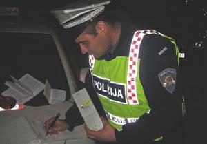 "Najava prometne akcije ""Nadzor alkoholiziranosti vozača"" diljem Istre"