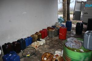Labin: Na gradilištima ukrali 2500 litara goriva