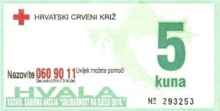"""Privremeni rezultati akcije """"Solidarnost na djelu 2010.g."""" prikupljeno gotovo 25 tisuća kuna"""