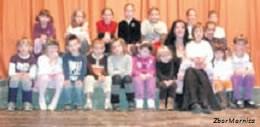 Dječji pjevački zbor Mornica - mali rekorderi