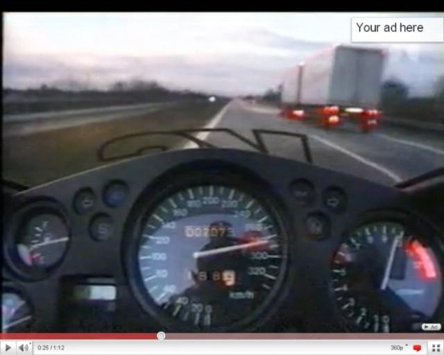Snimka prebrze vožnje stavljena na internet legalan dokaz na sudu