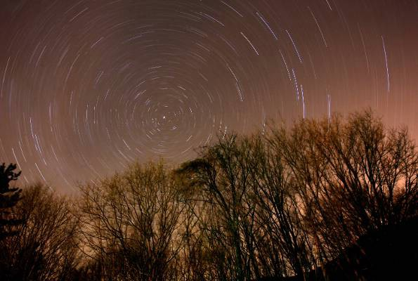 Očaravajuća kiša meteora nad Učkom