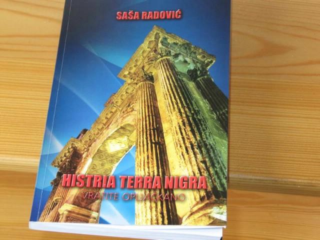 Kršan: Promocija knjige Histria Terra Nigra o podzemlju, političarima Istre, Rockwoolu  Saše Radovića