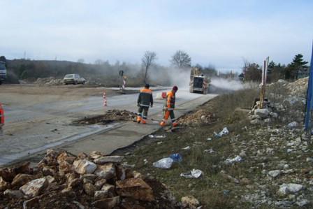 Započela sanacija dijela ceste kod Plodina (Audio)
