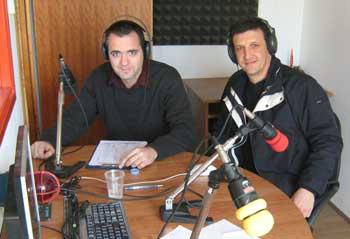 Siniša Verbanac i Robi Faraguna gostovali na Radio Labinu