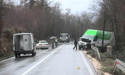 Kod Kršana poginuo 47-godišnjak iz Pićna, dvoje ozlijeđenih