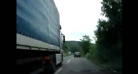VIDEO: pogledajte kako kamion pretječe kolonu vozila u Raši - videosnimke jurnjava ubuduće legalan dokaz na sudu (?)