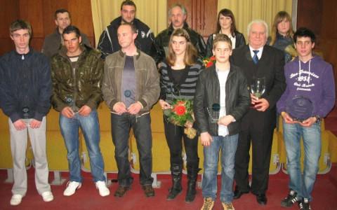 Proglašeni najbolji sportaši grada Labina za 2010 godinu: Laureati - Robi Šujević, Doris Belušić, RU Mladi rudar, Josip Faraguna