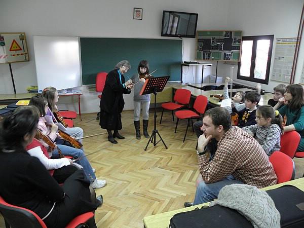 Labinska Osnovna glazbena škola kroz tri seminara na trenutak postala Muzička akademija