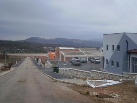 Pred dovršetkom radovi na izgradnji prve faze prometnica u Poduzetničkoj zoni Vinež II