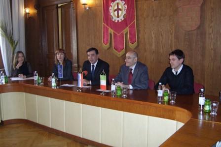 Renato Cianfarani, generalni konzul Republike Italije u Rijeci posjetio Labin