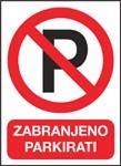 Obavijest: 1. i 2. ožujka cijeli dan zatvoreno veliko parkiralište ispod Fine