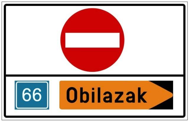 Obavijest o zatvaranju državne ceste D66 Barban – Most Raša  - tri mjeseca u Pulu preko Podpićna i Svete Katarine