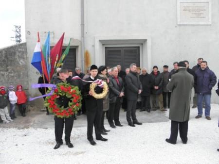 90. obljetnica Labinske republike: Komemoracija na Krvovoj placi