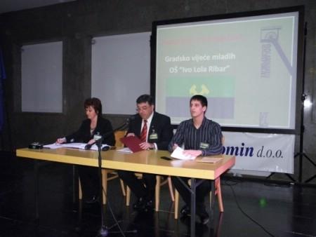 90. obljetnica Labinske republike: Održana tematska sjednica Gradskog vijeća mladih Grada Labina