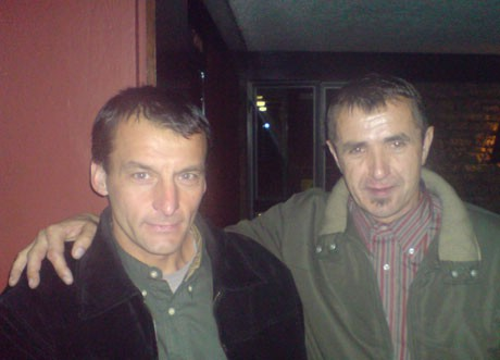 Ivan Stanić u 2008. ulazi trčeći na 29. Novogodišnjoj utrci u Varaždinu