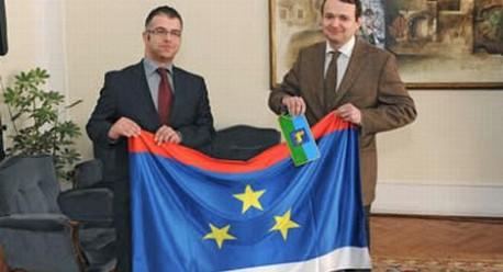 Vedran Grubišić na čelu istarskog izaslanstva u Novom Sadu