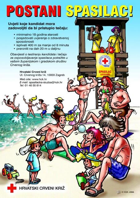 Labin: Otvoren tečaj za osposobljavanje spasioca na vodi