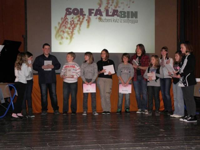 Održan prvi kviz iz solfeggia `Sol-Fa-Labin` u Kinu Labin