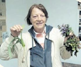 Anita Paliska, poznavateljica samoniklog jestivog bilja