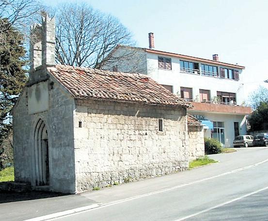 Labin: Raspada se crkvica iz 15 stoljeća