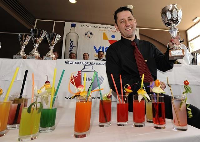Najbolji barmen Hrvatske, Roberto Zuliani iz Rapca d.d. odlazi na Svjetsko prvenstvo barmena u Varšavu