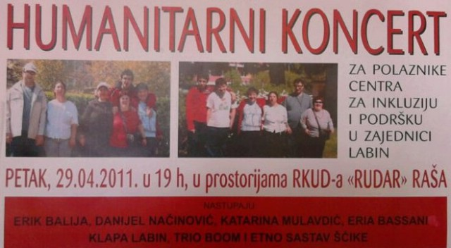 Forum mladih SDP-a Raše organizira humanitarni koncert
