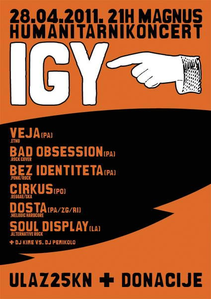 Labinski bend Soul Display priključio se humanitarnom koncertu za Igora teško bolesnog Igora Stranića u pazinskom Magnusu