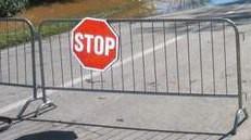 Obavijest o zatvaranju parkirališta i ceste