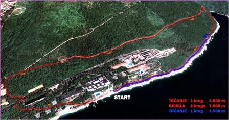 Ekipna cross duatlon utrka 1. svibnja u Rapcu