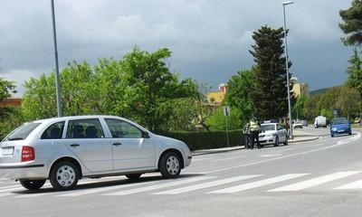 U centru Labina: Auto naletio na pješakinju