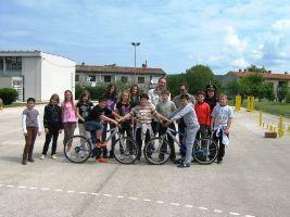 Učenici položili `vozački ispit` za bicikliste