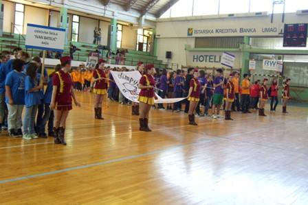 Otvorena 3. Olimpijada osnovnih škola Labinštine