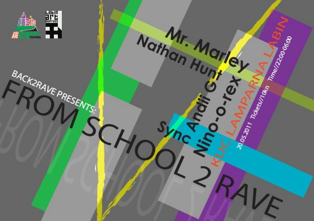 From School 2 Rave @ KuC Lamparna 20. 05. 2011 - party labinskih maturanata