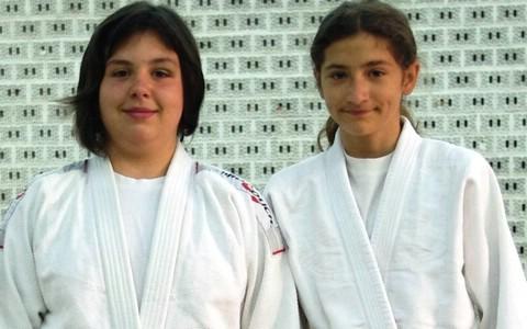 MEĐUNARODNI JUDO TURNIR - KAŠTEL SUĆURAC 2011.  - Ana Ivaković i Antonija Smajić zlatne