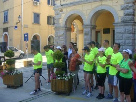 Super maratonci iz Baje dočekani u Labinu