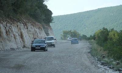 Labinjani odahnuli - opet mogu preko Barbana (Cesta nedovršena,ali porohodna)