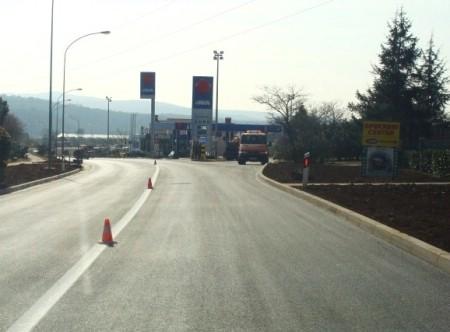Obnovljena horizontalna prometne signalizacija